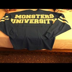 Disney SPIRIT SHIRT Monsters University NWT Medium
